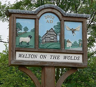 Walton on the Wolds village in the United Kingdom