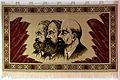 Wandteppich Engels Marx Lenin anagoria.JPG