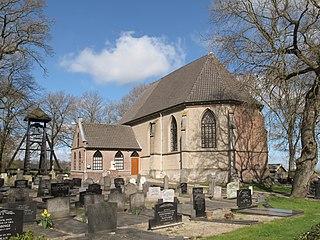Wanneperveen Village in Overijssel, Netherlands