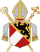 old coat of arms of the diocese of Lavant