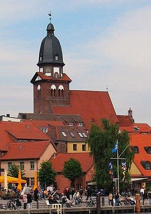 Waren (Müritz) - A view of Waren