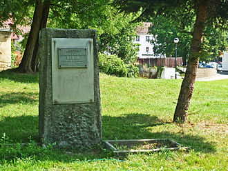 Heinrich Ignaz Franz Biber - A monument to Biber in his hometown, Wartenberg.