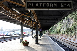 Waterford railway station - Image: Waterford Station, Ireland