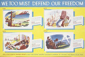 James Gardner (designer) - We Too Must Defend Our Freedom, by James Gardner.