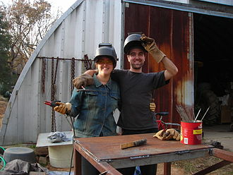 Acorn Community Farm - Welding