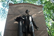 Wendell Phillips Boston Public Garden Close-up.JPG