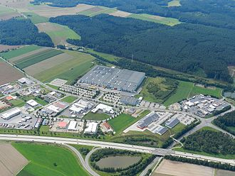 Conrad Electronic - The Conrad shipping and logistics centre at Wernberg-Köblitz.