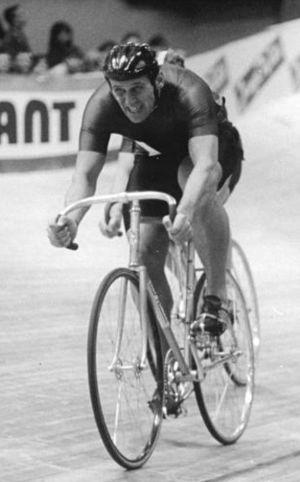 Werner Otto (cyclist) - Werner Otto in 1989