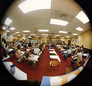 West Orange High School (Florida) - Typical classroom in 1977