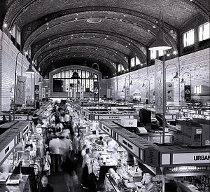 Hubbell & Benes - West Side Market interior