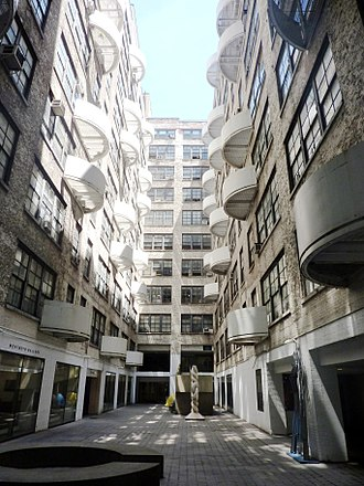 Westbeth Artists Community - The courtyard of Westbeth (2012)