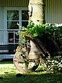 Wheelbarrow in the Garden - geograph.org.uk - 537051.jpg