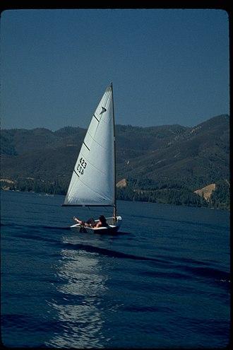 Whiskeytown–Shasta–Trinity National Recreation Area - Sailing at Whiskeytown Lake.