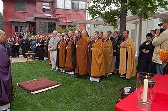 White Plum Asanga - Many teachers of the White Plum Asanga present at the 40th anniversary of the Zen Center of Los Angeles