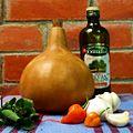 Why not nano - Lagenaria siceraria calabaza del peregrino recipiente para aceite.jpg