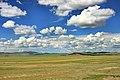 Widoki mongolskiego krajobrazu widziane z minibusa Karakorum - Ułan Bator (26).jpg