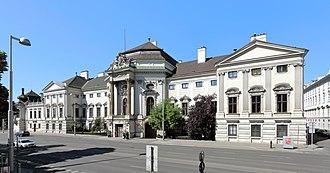 Palais Auersperg - Palais Auersperg in 2017