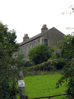 Former military barracks, youth hostel at Aghavannagh
