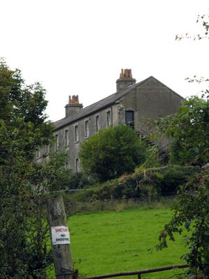 Aghavannagh - Former military barracks, youth hostel at Aghavannagh