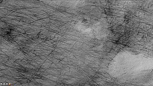 Copernicus (Martian crater) - Image: Wikicopernicusdevils