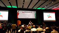 Wikimania 2015 opening Ceremony 1.jpg