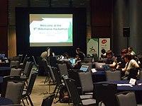 Wikimania hackathon day 2 7168968.JPG