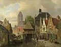 Willem Koekkoek (1839-1895) - View of Oudewater - NG6472 - National Gallery.jpg