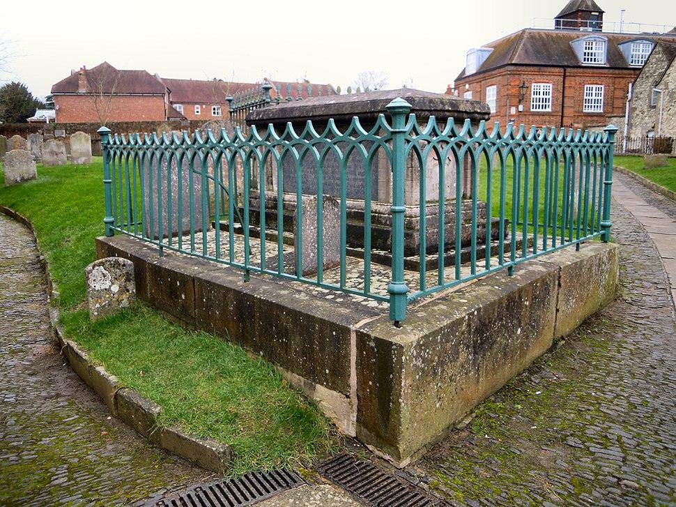 William Cobbett Grave 2016