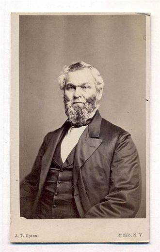 William Fargo - William G. Fargo in 1865