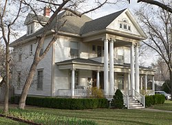 William Thompson house (Garden City) from NW 1.JPG