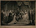 William of Orange, and Mary, his English wife are presented Wellcome V0048279.jpg