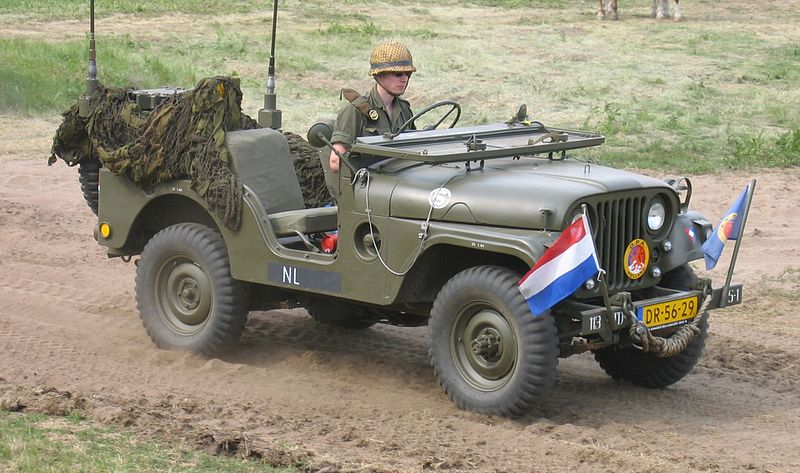 Illustration of an open jeep, sadly its a military one - wikipedia