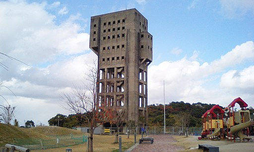 Winding tower of Shime 1