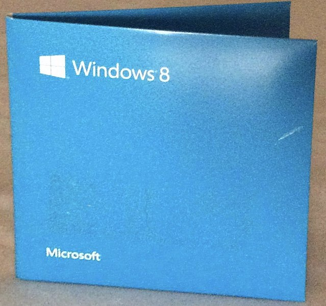 File:Windows 8 Pro DVD.jpg