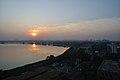 Winter Solstice Sunset - Kolkata 2011-12-22 7691.JPG