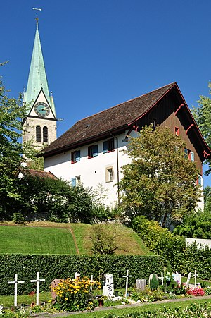 Oberwinterthur - Image: Winterthur Hohlandhaus, Hohlandstrasse 11 2011 09 10 14 14 44 Shift N