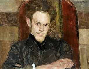 Portrait of Maksymilian Rosen, painter.