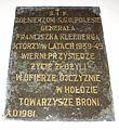 Wola Gulowska tablica zolnierzom SGO Polesie.jpg