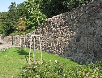 Woldegk - Image: Woldegk Stadtmauer