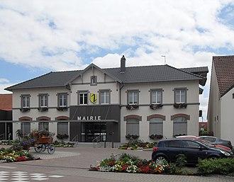 Wolfisheim - Image: Wolfisheim, Mairie