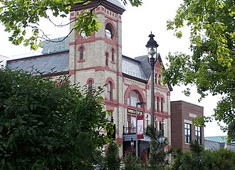 Woodstock, Illinois - The Woodstock Opera House on the Square in historic downtown Woodstock