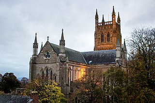 Worcester Cathedral Church in Worcester , United Kingdom