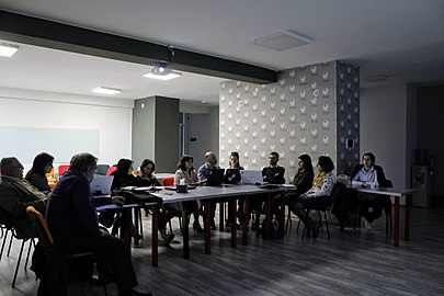 Workshop with representatives of Armenian museums, Wikimedia Armenia 02.jpg