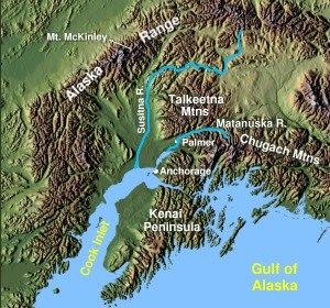 Kenai Peninsula - The Kenai Peninsula in Alaska