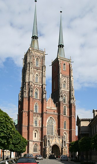 Roman Catholic Archdiocese of Wrocław - Cathedral of St. John in Wrocław, centre of the archdiocese