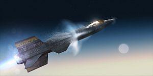 Artistic rendering - X-plane artistic render
