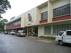 Ateneo de Manila University -  Xavier Hall, administration