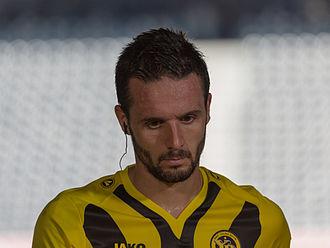 Raphaël Nuzzolo - Image: YB vs. FCL Nuzzolo 6