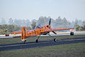 Yakovlev Yak-55M Titus The Tumbling Tiger Taxi Out 03 TICO 13March2010 (14596060021).jpg