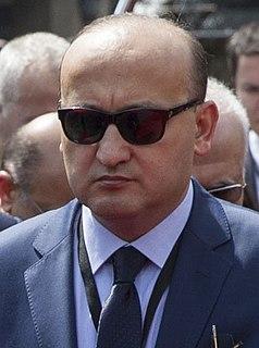 Turkish politician, academic and journalist